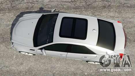 GTA 5 Cadillac CTS-V 2009 back view