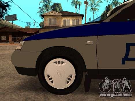 VAZ 2110 DPS for GTA San Andreas upper view