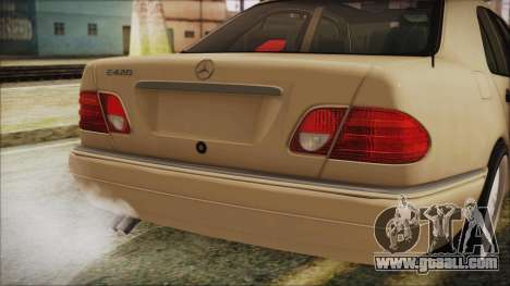 Mercedes-Benz E420 for GTA San Andreas back view