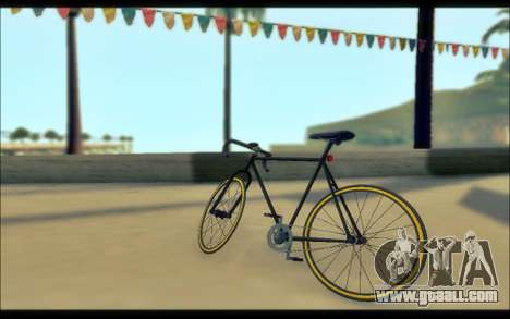 GTA V Fixter for GTA San Andreas back left view