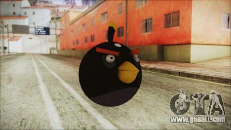 Angry Bird Grenade for GTA San Andreas