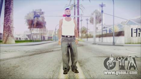 GTA 5 Grove Gang Member 3 for GTA San Andreas second screenshot