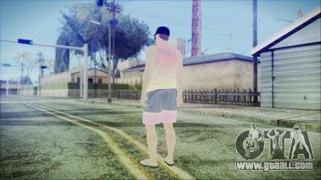 GTA Online Skin 31 for GTA San Andreas third screenshot
