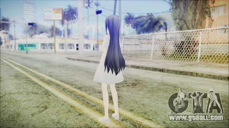 Yui Sword Art Online for GTA San Andreas third screenshot