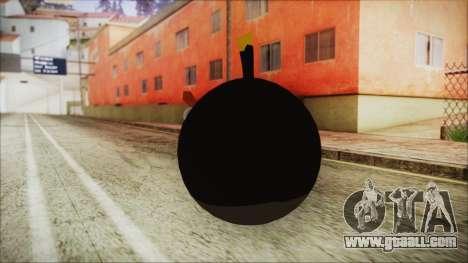 Angry Bird Grenade for GTA San Andreas second screenshot
