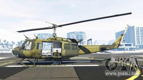 GTA 5 Bell UH-1D Huey Bundeswehr second screenshot