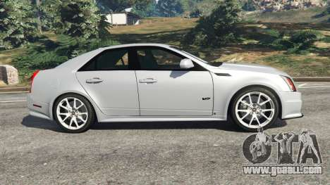 GTA 5 Cadillac CTS-V 2009 left side view