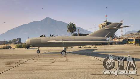 The MiG-15 for GTA 5