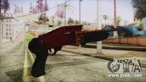 Xmas SPAS-12 for GTA San Andreas second screenshot