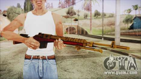 Xmas M14 for GTA San Andreas third screenshot