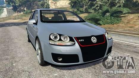 Volkswagen Golf Mk5 GTI 2006 for GTA 5