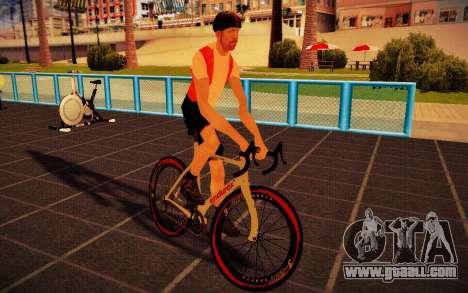 GTA V Endurex Race Bike for GTA San Andreas back left view