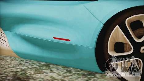 Renault Dezir Concept 2010 v1.0 for GTA San Andreas side view