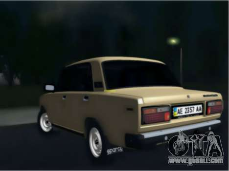 Ваз 21074 Beige Beauty for GTA San Andreas left view