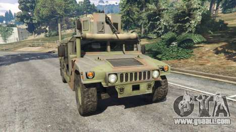 HMMWV M-1116 [woodland] for GTA 5