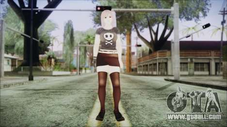 DoA Kokoro 2 for GTA San Andreas second screenshot