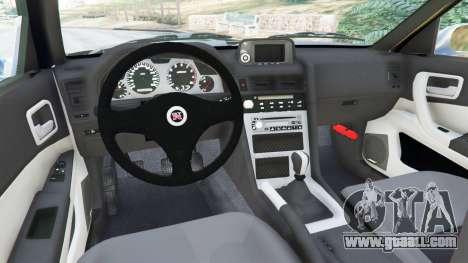 GTA 5 Nissan Skyline R34 2002 rear right side view