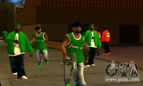 Mens Mega Pack for GTA San Andreas forth screenshot