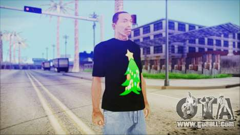 T-Shirt Christmas Tree for GTA San Andreas
