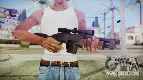 Fallout 4 Overseers Guardian for GTA San Andreas third screenshot