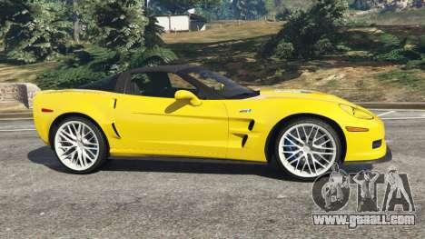 GTA 5 Chevrolet Corvette ZR1 left side view