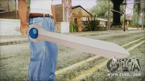 Finn Sword from Adventure Time for GTA San Andreas