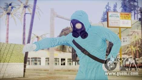 GTA 5 Online The Heist Gasmask Dark for GTA San Andreas