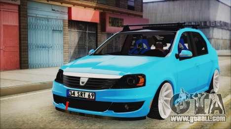 Dacia Logan Cadde Style for GTA San Andreas