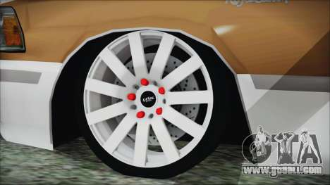 Toyota Crown VIP for GTA San Andreas back left view
