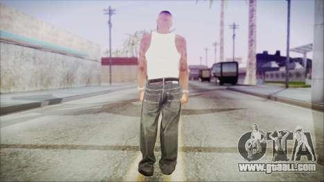 GTA 5 Grove Gang Member 3 for GTA San Andreas third screenshot