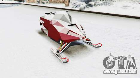 Snowmobile for GTA 5