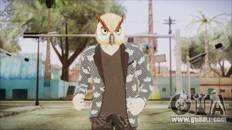 Skin GTA Online Hipster 2 for GTA San Andreas