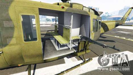 GTA 5 Bell UH-1D Huey Bundeswehr sixth screenshot