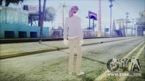 Hermione Granger for GTA San Andreas third screenshot