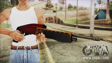 Xmas SPAS-12 for GTA San Andreas third screenshot