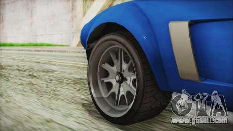 GTA 5 Declasse Mamba for GTA San Andreas back left view