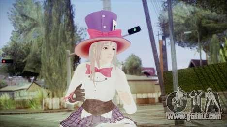 Dead Or Alive 5 LR Honoka Halloween 2015 for GTA San Andreas