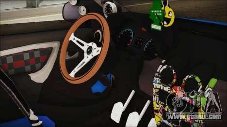 Dacia Logan Cadde Style for GTA San Andreas right view