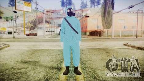 GTA 5 Online The Heist Gasmask Dark for GTA San Andreas second screenshot