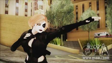Blonde Domino from Deadpool for GTA San Andreas