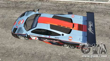 GTA 5 McLaren F1 GTR Longtail [Gulf] back view