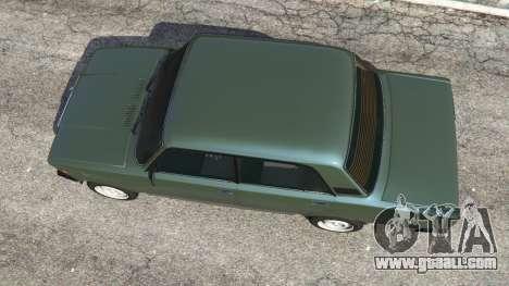 GTA 5 VAZ-2107 [Riva] v1.1 back view