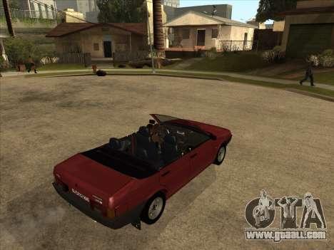 VAZ 21099 Convertible for GTA San Andreas right view