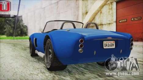 GTA 5 Declasse Mamba for GTA San Andreas left view