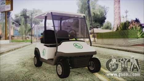 GTA 5 Golf Caddy for GTA San Andreas
