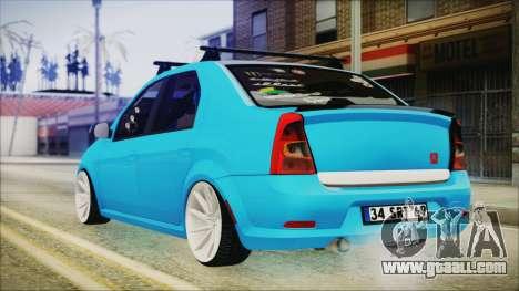 Dacia Logan Cadde Style for GTA San Andreas left view