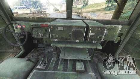HMMWV M-1116 [woodland] for GTA 5