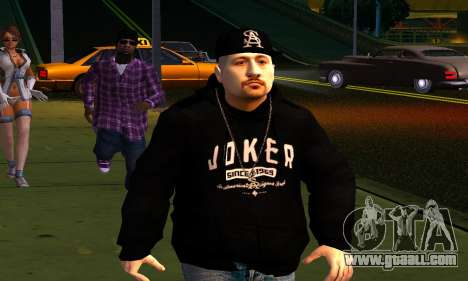 Mens Mega Pack for GTA San Andreas ninth screenshot
