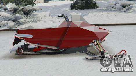 GTA 5 Snowmobile left side view