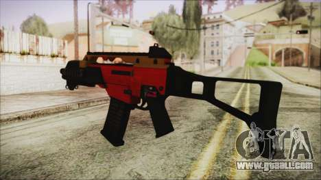 Xmas G36C for GTA San Andreas second screenshot